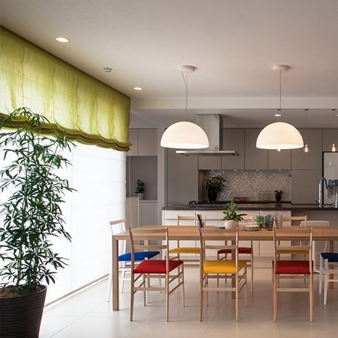 プロスタイルデザインの住宅への導入事例です。