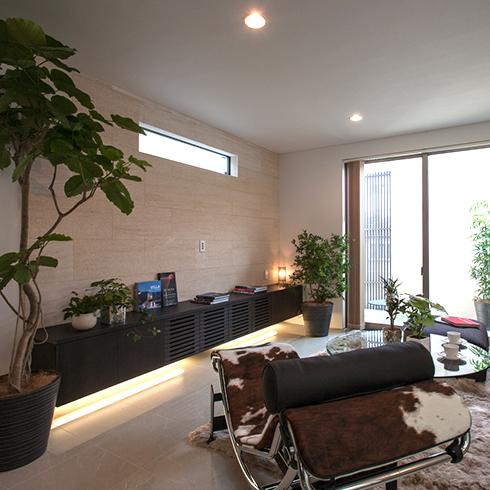 世田谷区のプロスタイルデザイン設計住宅の事例です。