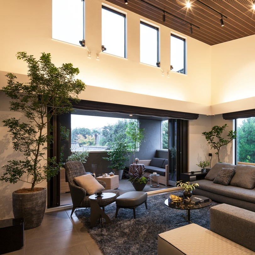 PROSTYLE DESIGN社設計の豪邸への事例です。